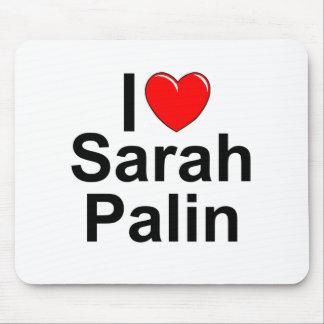 I Love (Heart) Sarah Palin Mouse Pad