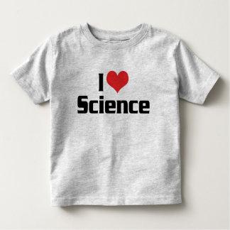 I Love Heart Science Toddler T-shirt