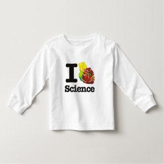 I Love Heart Science T Shirt