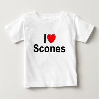 I Love (Heart) Scones Baby T-Shirt