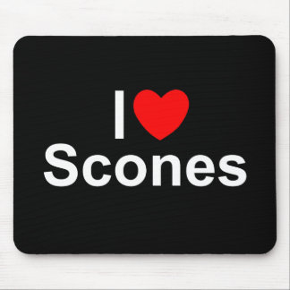 I Love (Heart) Scones Mouse Pad