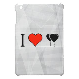 I Love Heart Shaped Balloons Cover For The iPad Mini