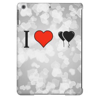 I Love Heart Shaped Balloons iPad Air Case