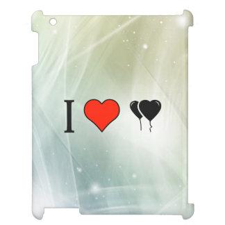 I Love Heart Shaped Balloons iPad Cases