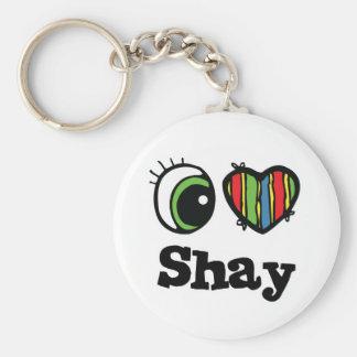 I Love (Heart) Shay Key Chains
