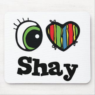 I Love (Heart) Shay Mouse Pad