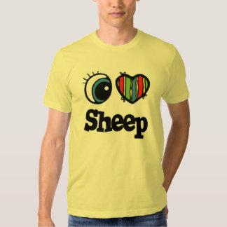 I Love (Heart) Sheep T-shirt