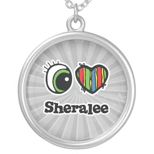 I Love (Heart) Sheralee Custom Necklace
