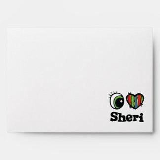 I Love (Heart) Sheri Envelope