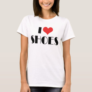 I Love Heart Shoes - Fashion Shoe Lover T-Shirt