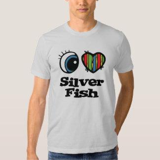 I Love (Heart) Silverfish Shirt