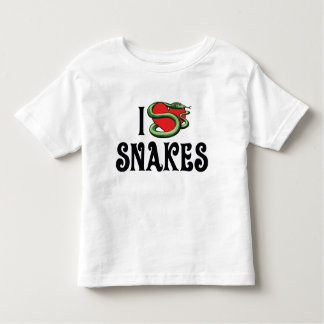 I Love Heart Snakes Toddler T-shirt