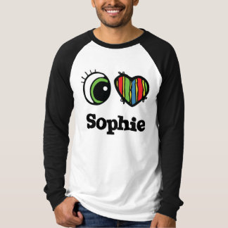 I Love (Heart) Sophie Tee Shirt