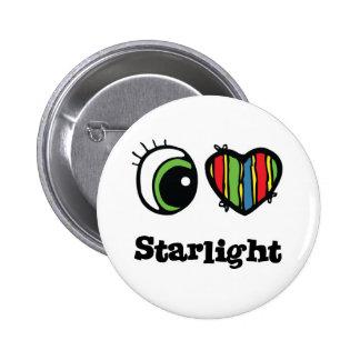 I Love (Heart) Starlight 2 Inch Round Button