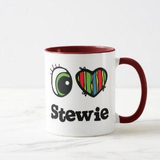 I Love (Heart) Stewie Mug