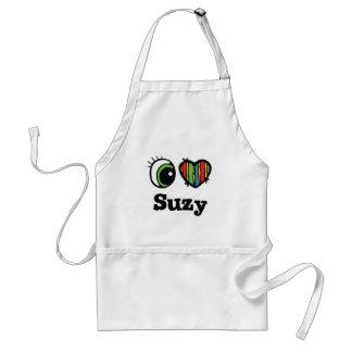 I Love (Heart) Suzy Adult Apron