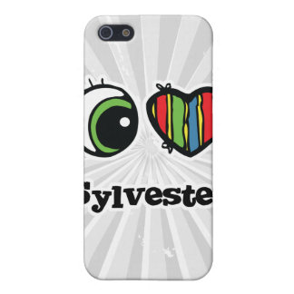 I Love (Heart) Sylvester Cover For iPhone 5