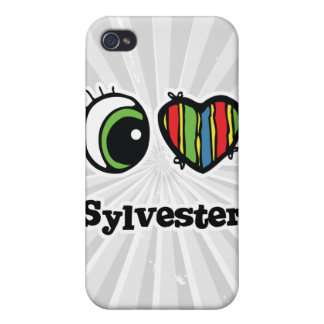I Love (Heart) Sylvester iPhone 4/4S Cover