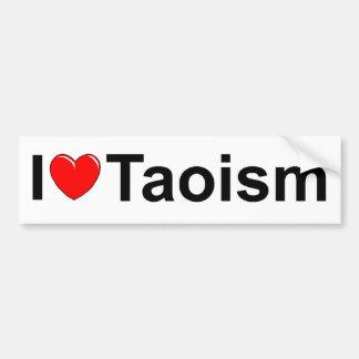 I Love (Heart) Taoism Bumper Sticker