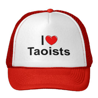 I Love (Heart) Taoists Trucker Hat