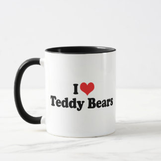 I Love Heart Teddy Bears - Teddy Bear Collector Mug