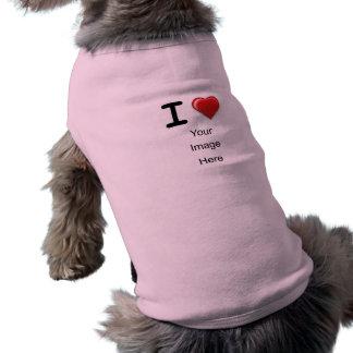 I Love(heart) Template Tee