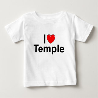 I Love (Heart) Temple Baby T-Shirt