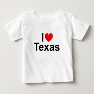 I Love (Heart) Texas Baby T-Shirt