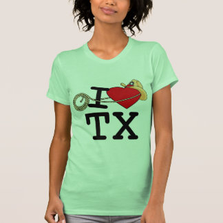 I Love Heart Texas T-Shirt