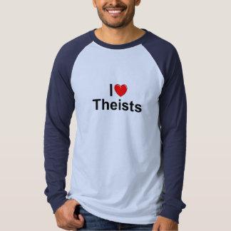 I Love (Heart) Theists Tee Shirt