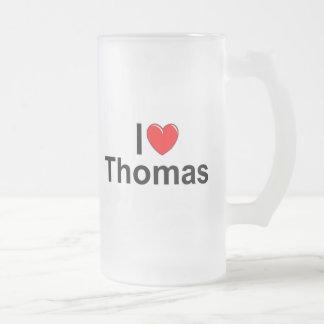 I Love (Heart) Thomas Coffee Mugs