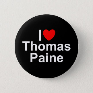 I Love (Heart) Thomas Paine Button