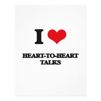 I love Heart-To-Heart Talks Flyer
