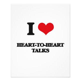 I love Heart-To-Heart Talks Personalized Flyer