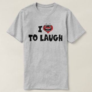 I Love Heart To Laugh - Stand Up Comedy Lover T-Shirt