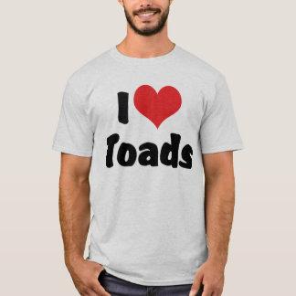 I Love Heart Toads T-Shirt
