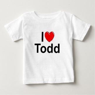 I Love (Heart) Todd Baby T-Shirt