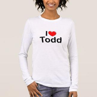 I Love (Heart) Todd Long Sleeve T-Shirt