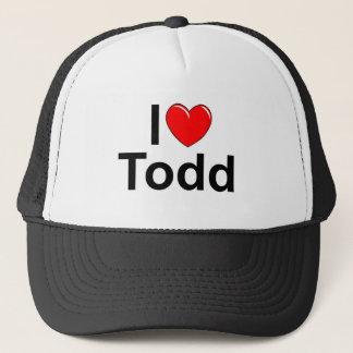 I Love (Heart) Todd Trucker Hat