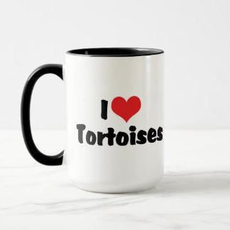 I Love Heart Tortoises - Turtle Lover Mug
