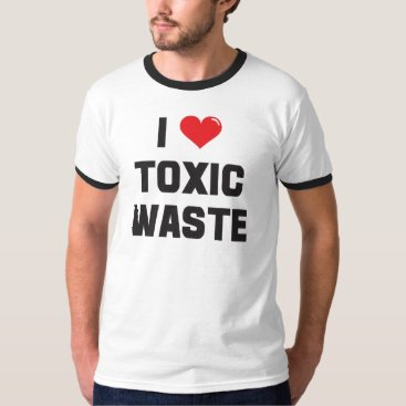 punkdumpster I Love (heart) Toxic Waste T-Shirt