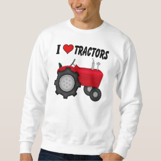 I love (heart) Tractors Sweatshirt