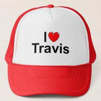 I Love (Heart) Travis Trucker Hat