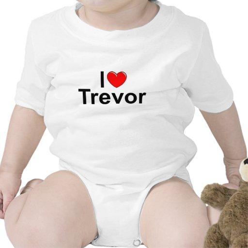 I Love (Heart) Trevor Tshirts