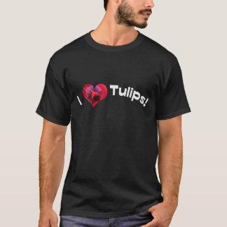 I love heart tulips T-Shirt