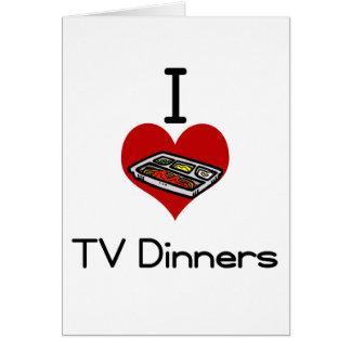 I love-heart tv dinner card