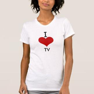 I Love (heart) TV Tee Shirts