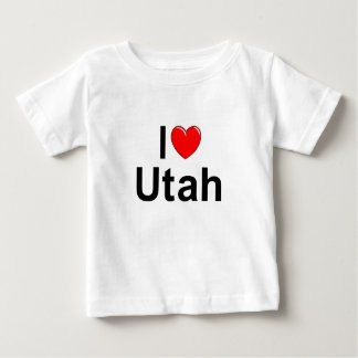 I Love (Heart) Utah Baby T-Shirt
