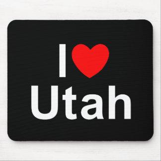 I Love (Heart) Utah Mouse Pad
