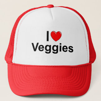 I Love (Heart) Veggies Trucker Hat